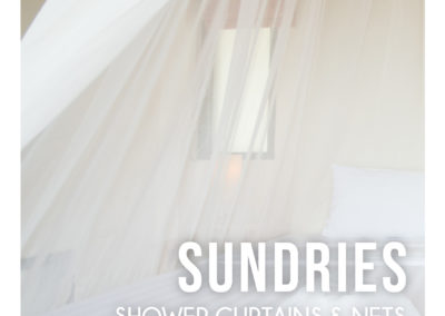 Middle Cast Catalogue Contemporary Linens - Sundries  Shower Curtains & Nets 1
