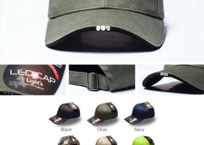 Headwear Catalogue 98 - Night  Hawk Lighted Cap