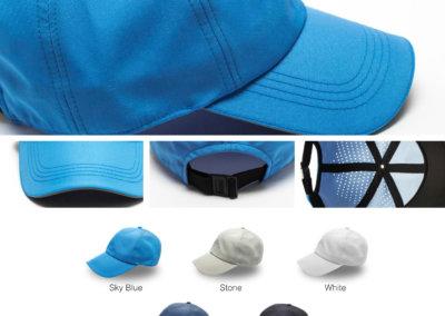 Headwear Catalogue  113 - Reflector Laser 6 panel