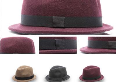 Headwear Catalogue 120 - Felt Homburg