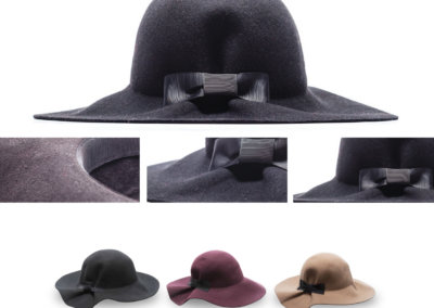 Headwear Catalogue 121 - Pleated Back Sunhat