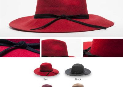 Headwear Catalogue 122 - Tassel Trim Sunhat