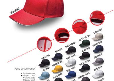 Headwear Catalogue 7 - Sandwich Brushed Cotton