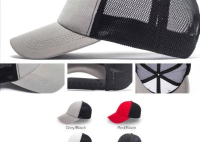 Headwear Catalogue 126 - Active 6 Panel Trucker