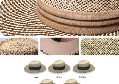 Headwear Catalogue 134 - Two-Tone Straw