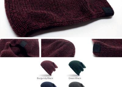 Headwear Catalogue 144 - Two-Tone Slouch Skull