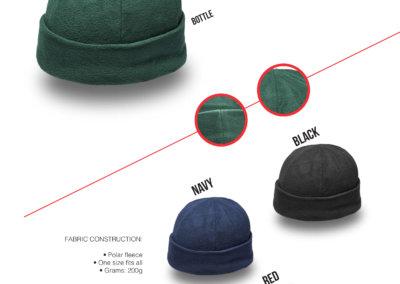 Headwear Catalogue 10- Promo Fleece Beanie