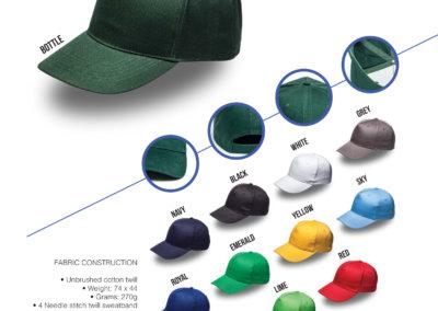 Headwear Catalogue 13 - Super 5 Panel Cap