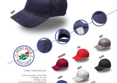 Headwear Catalogue 14 - Retail 6 Panel Cap