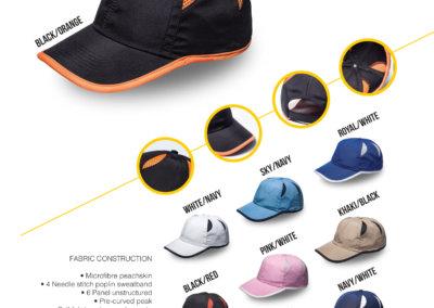 Headwear Catalogue 21 - Olympic 6 Panel