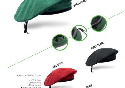Headwear Catalogue 26 - Beret