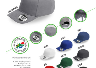 Headwear Catalogue 32 - American Curved Peak