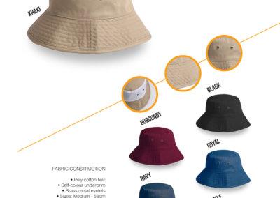 Headwear Catalogue 39 - School Bucket Hat