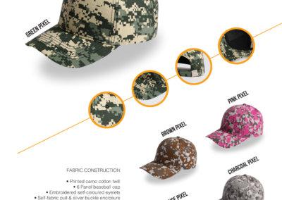 Headwear Catalogue 42 - Pixel Camo