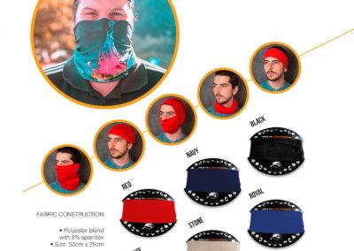 Headwear Catalogue  44 - Multi-Functional Headwear