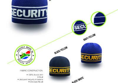 Headwear Catalogue 47 - Security Skull Beanie