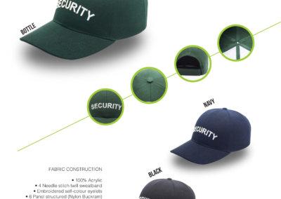 Headwear Catalogue 51 - Security Cap