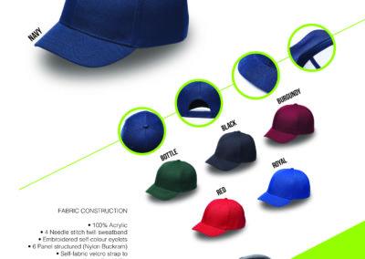 Headwear Catalogue 53 - Bump Cap