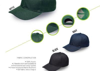 Headwear Catalogue 54 - Fade Resistant Cap