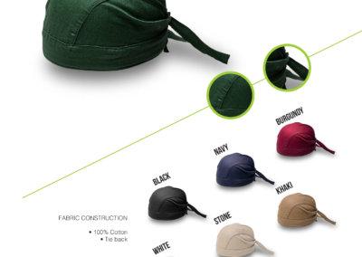 Headwear Catalogue 55 - Tie-Back Bandana