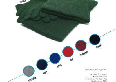 Headwear Catalogue 57 - Knitted Set