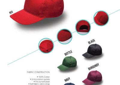 Headwear Catalogue 65 - Kiddies 5 Panel Cap