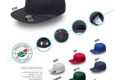 Headwear Catalogue 68 - Kiddies Flat Peak