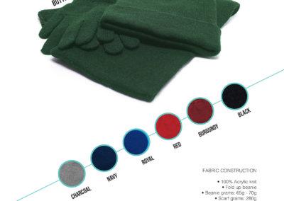 Headwear Catalogue 70 - Kiddies Knitted Set
