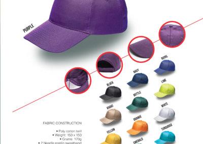 Headwear Catalogue 2 - 5 Panel Promo
