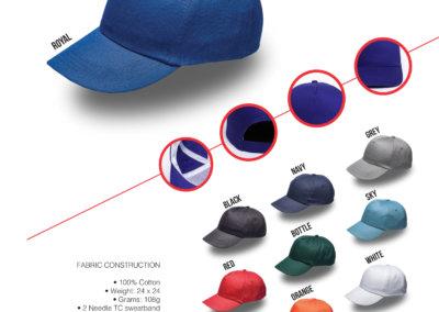 Headwear Catalogue 3 - 5 Panel Cap
