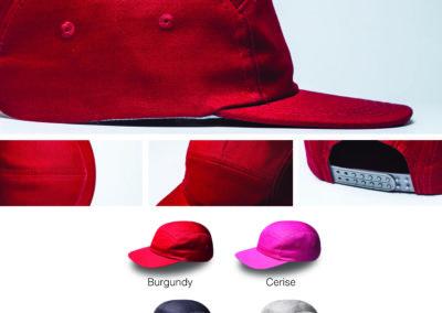 Headwear Catalogue 85 - 5 Panel Fashion Snapback