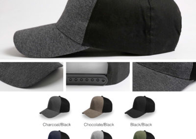 Headwear Catalogue 87 - Jersey 5 Panel