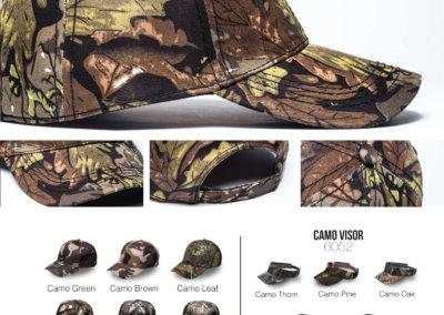 Headwear Catalogue 92 - Camo Hunter