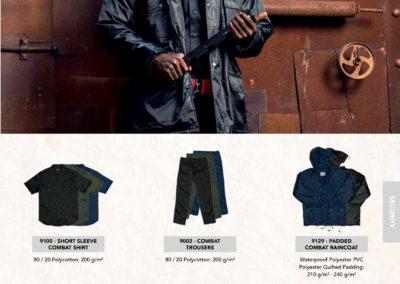 Javlin Workwear Catalogue 7 - Combat