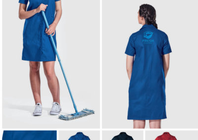 Barron On Workwear Catalogue 11 – Service and Beauty Ladies Poly Cotton House Coat