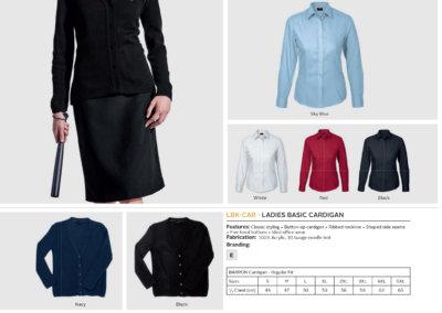Barron On Workwear Catalogue 96 - Security Ladies Basic Poly Cotton Blouse
