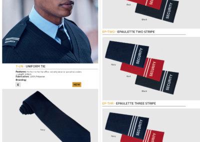Barron On Workwear Catalogue 98 - Security Uniform Tie