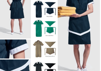 Barron On Workwear Catalogue 12 - Service and Beauty Ladies Poly Cotton 3 Piece Set