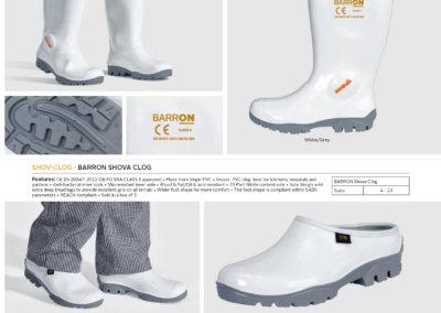 Barron On Workwear Catalogue 106 - Footwear Barron Shova Deli Gumboot