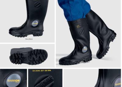 Barron On Workwear Catalogue 107 - Footwear Barron Shosholoza Mining Gumboot