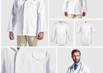 Barron On Workwear Catalogue 13 - Service and Beauty All-purpose short and long sleeve lab coat