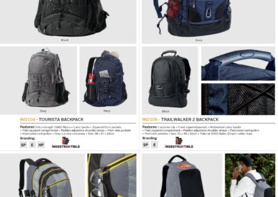 Barron On Workwear Catalogue 117 - Accessories Tourista Backpack