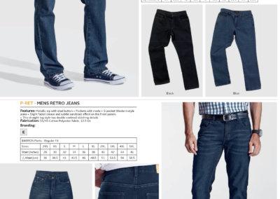Barron On Workwear Catalogue 121 - Bottoms Men's Original Jeans