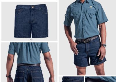 Barron On Workwear Catalogue 122 - Bottoms Bundu Denim Shorts