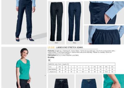 Barron On Workwear Catalogue 129 - Bottoms Ladies Amber Pants
