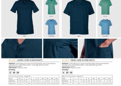 Barron On Workwear Catalogue 15 – Service and Beauty Core Scrub Top