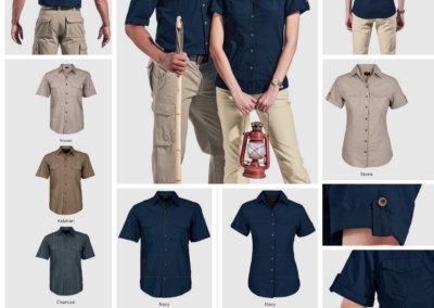 Barron On Workwear Catalogue 139 - Outdoor & Leisure Men's Tracker Shirt