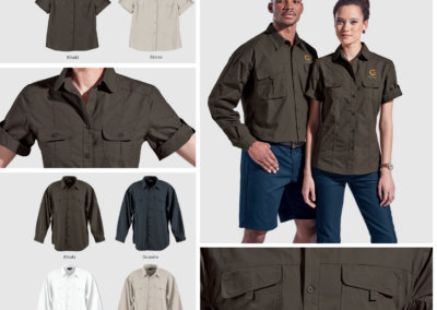 Barron On Workwear Catalogue 140 - Outdoor & Leisure Ladies Outback Blouse