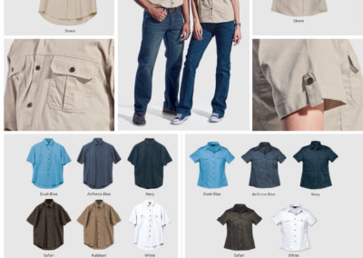 Barron On Workwear Catalogue 141- Outdoor & Leisure Men's Plain Bush Shirt