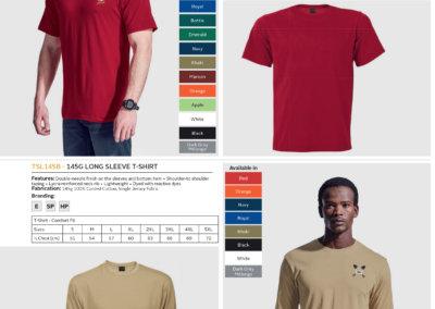 Barron On Workwear Catalogue 146 - Outdoor & Leisure 145G Barron Crew Neck T-shirt